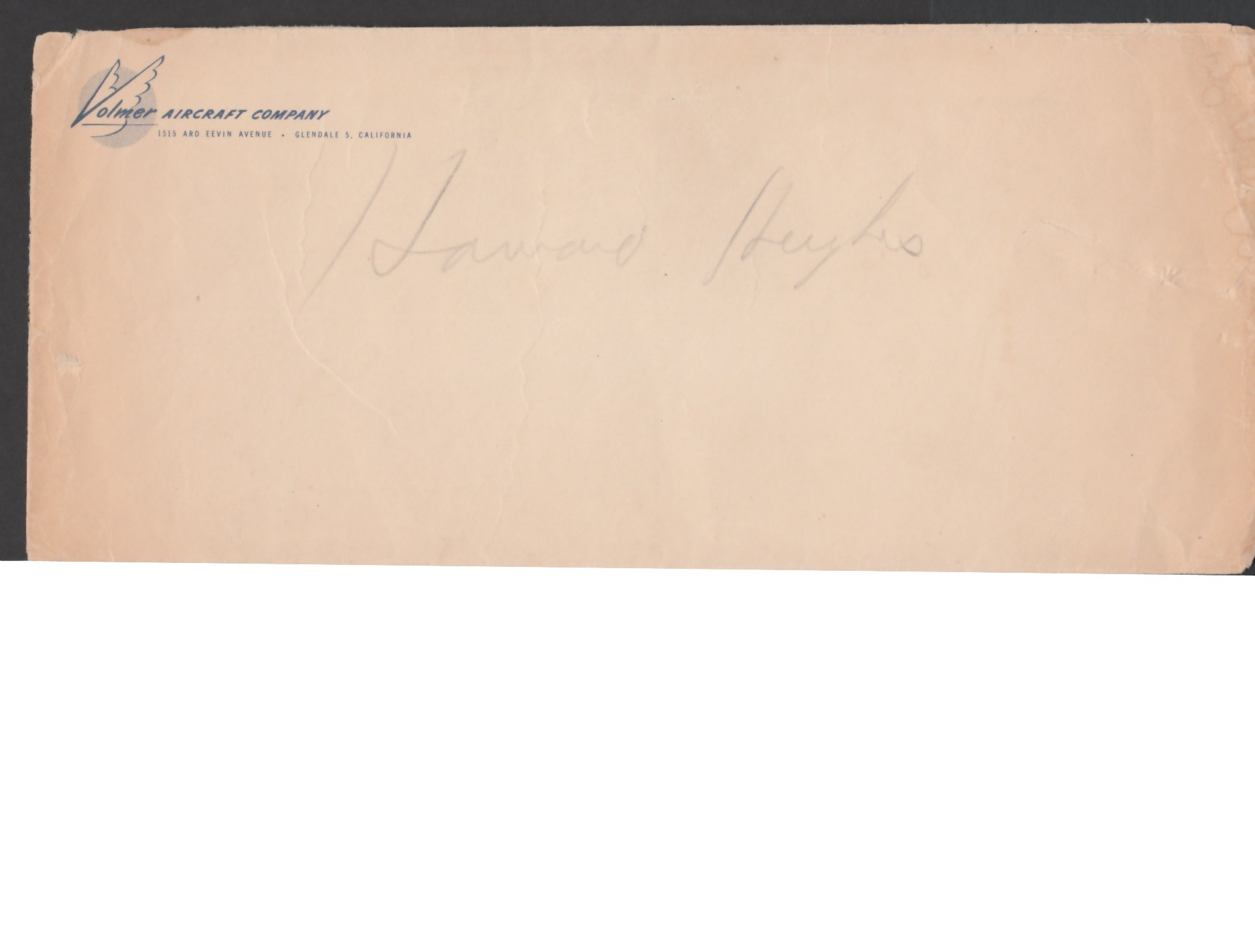 """Airmails - Russia / USA / France 1938 Printed """"Howard Hughes, New York Worlds Fair 1939"""" - Image 3 of 4"""