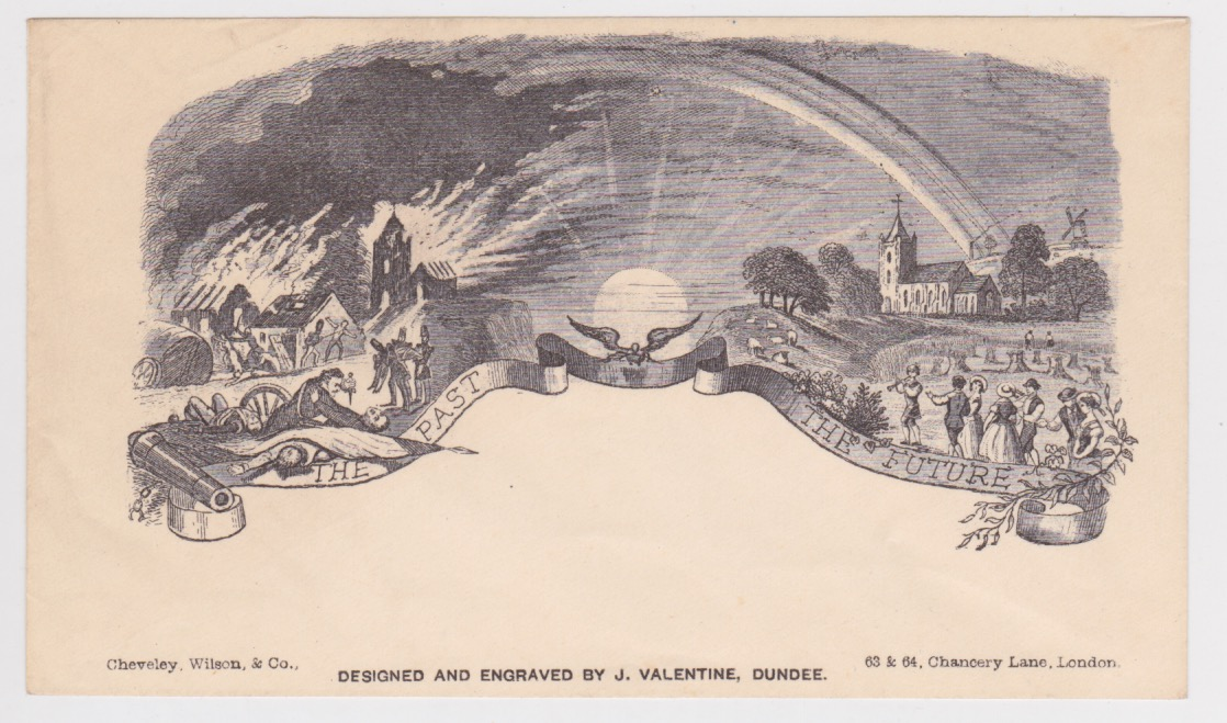 G.B. - Pictorial Envelopes c.1850