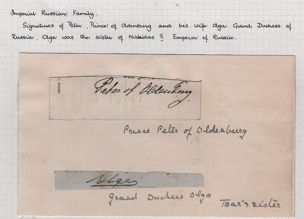 Royalty Grand Duchess Olga Correspondence To Her Sister Grand Duchess Xenia 1916-1920 - Image 2 of 47