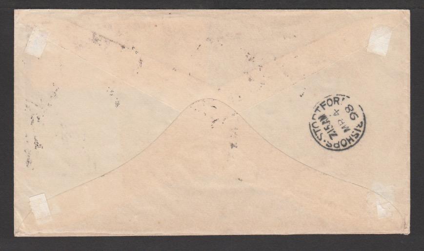 G.B. - Surfaced Printed / Paquebots 1898 - Image 2 of 2