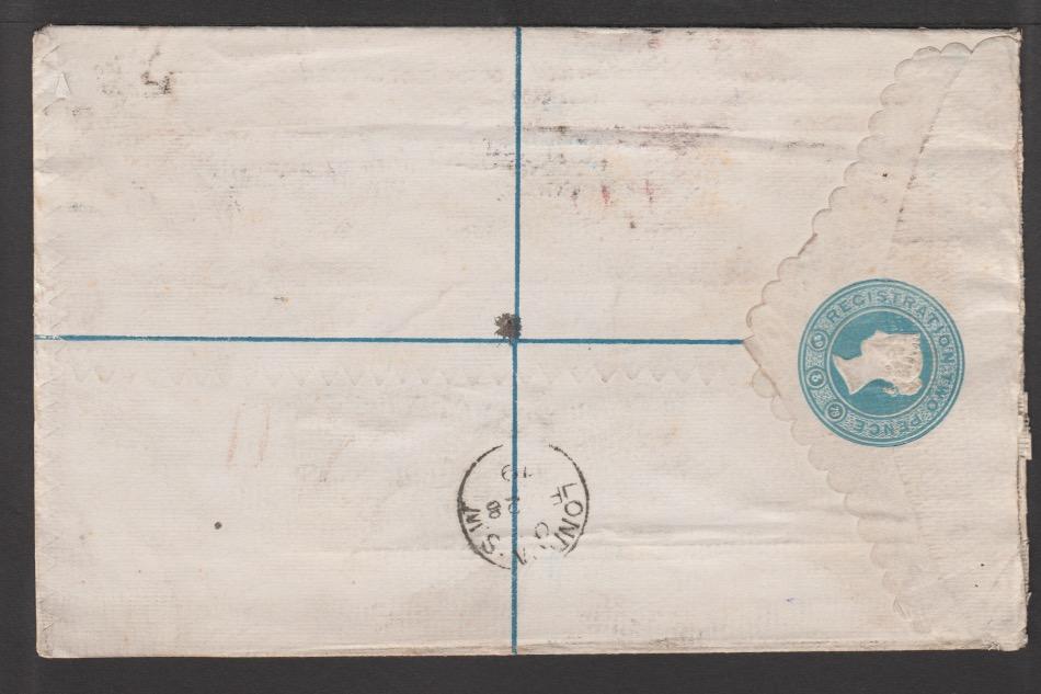 G.B. - Postal Stationery 1879 - Image 2 of 2
