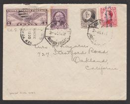 Air Mail / Spain / U.S.A. 1932