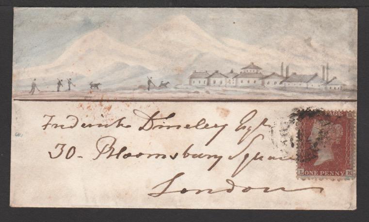 GB - Pictorial Envelopes 1855