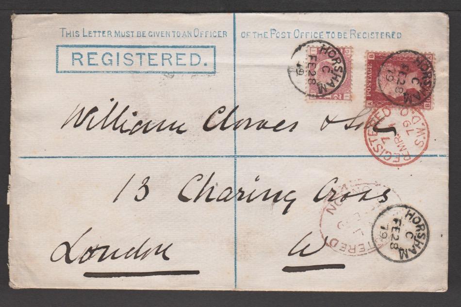 G.B. - Postal Stationery 1879