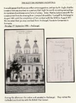 The Scottish Women's Hospital. 11 cards from Martha Jackson in Russia and Romania