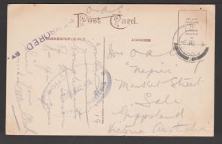 Nyasaland 1919 (Jan 6)