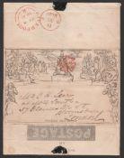 G.B. - Mulready 1840 (May 8)