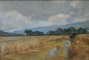 Joseph Milne (1857-1911) Oil on Panel. Scottish 19th Century Impressionist