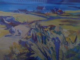 """Large Limited Edition Print by Dronma """"Heading Home"""""""