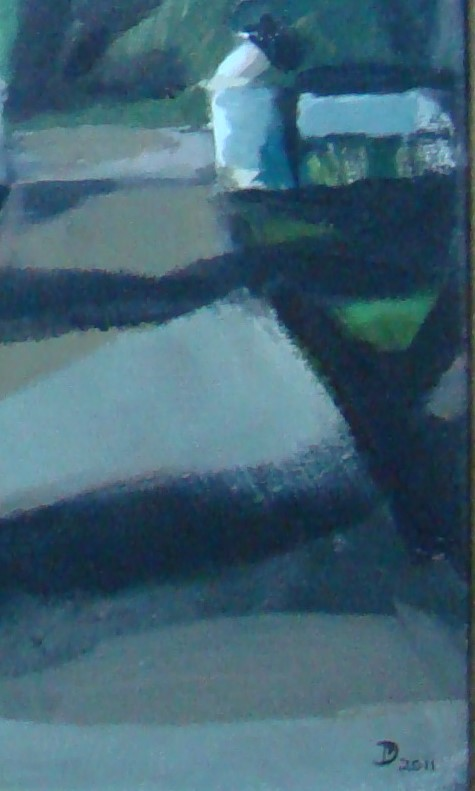 Donnie Munro Scottish Artist Signed & Framed Oil & Acrylic. Low Light Scorrybreac - Image 3 of 6