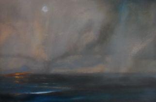 Beth Robertson Fiddes. Original Painting Beach Fire, Sutherland