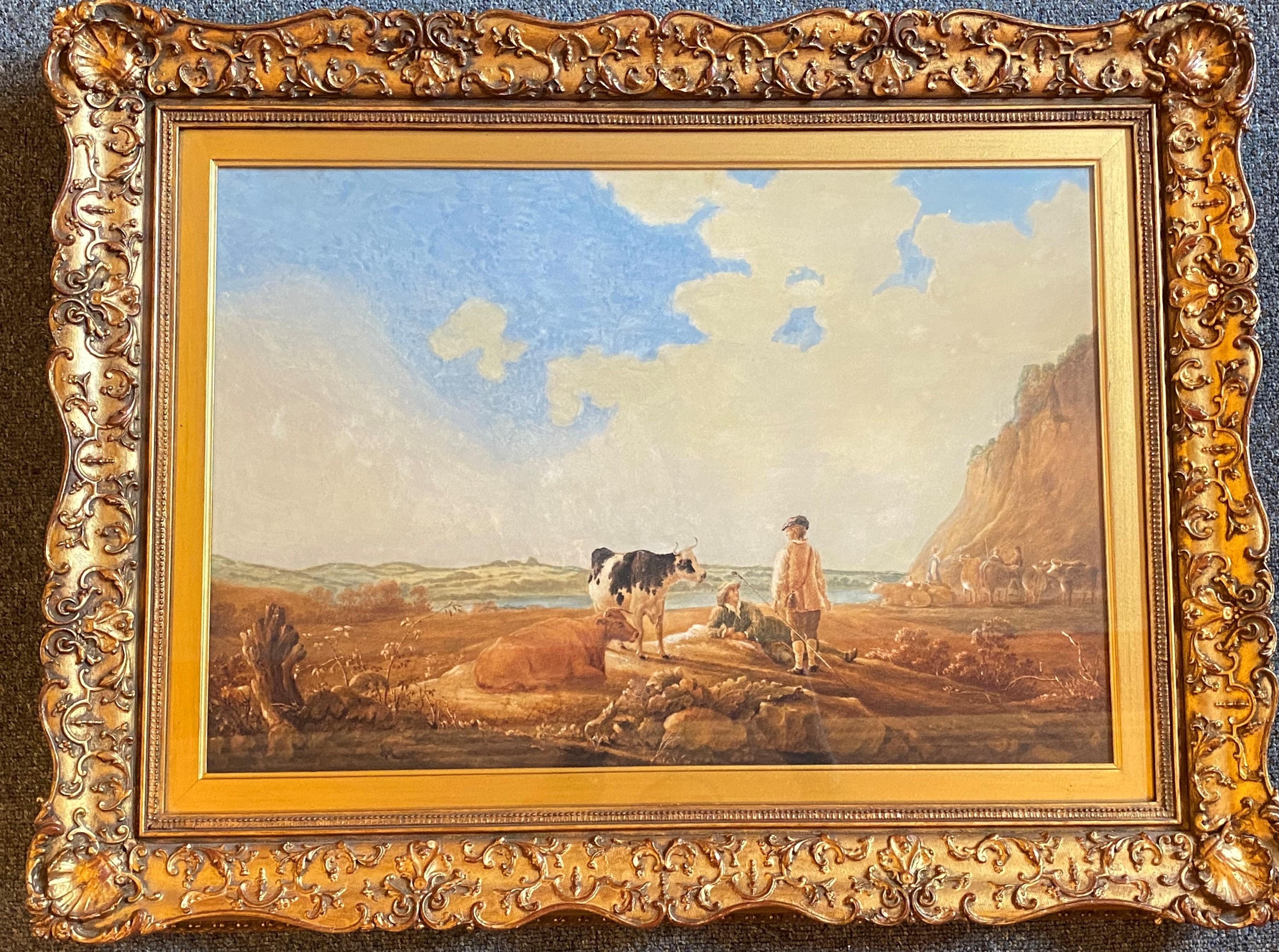 Attrib John Dearman (fl. 1824-56) British, original watercolour painting - Image 2 of 4