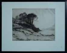 JOHN G MATHIESON Untitled Etchings (2), signed in pencil