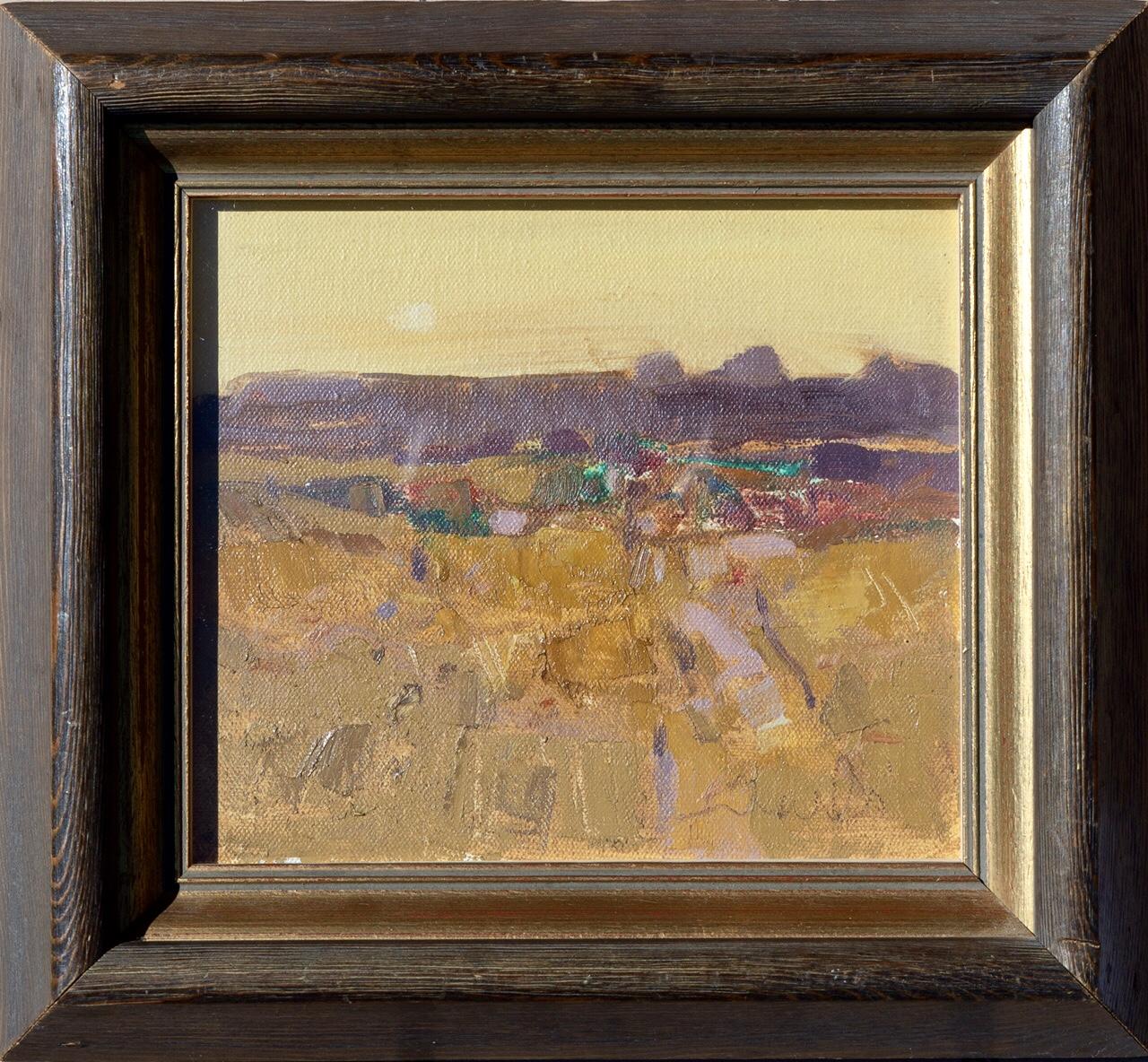 GEORGE DEVLIN RSW RGI FRSA (SCOTTISH 1937 - 2014), Evening, Signed Oil Painting