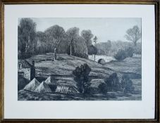 W Y MACGREGOR RSA (SCOTTISH 1855-1921), Kier Dunblane, signed Drawing