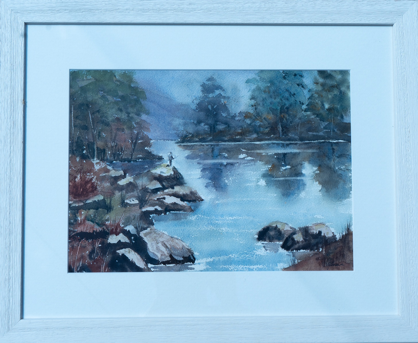 W NORMAN GAUNT, Highland Landscape, signed Watercolour, and Two Others (3) - Image 2 of 3