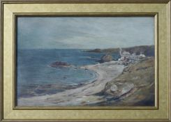 JOHN SMART RSA (SCOTTISH 1838-1899), Along the Coast, Signed Oil Painting