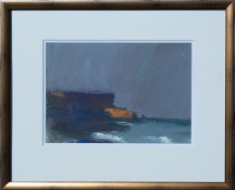 UNKNOWN ARTIST, Coastline, Acrylic Painting
