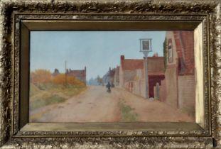 J TURNER (British) Fife Street Scene, signed Watercolour