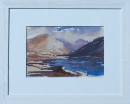 W NORMAN GAUNT, Highland Landscape, signed Watercolour, and Two Others (3)