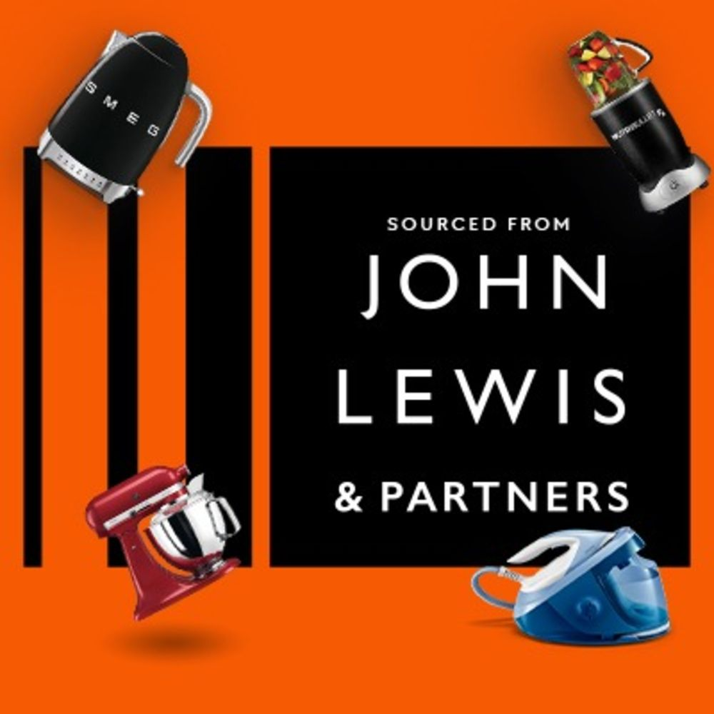No Reserve Pallets of Raw Returns I Premium & Standard Small Domestic Appliances, Toys & Furniture - Sourced from John Lewis