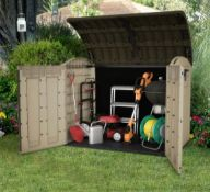 (R16) 1x Keter Store It Out Ultra RRP £325. Dimensions (L177 x W113 x H134 cm)