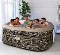 (R7C) 1x Cleverspa Sorrento 6 Person Hot Tub RRP £600.