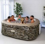 (R7I) 1x CleverSpa Sorrento 6 Person Hot Tub RRP £600.