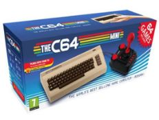 (R2I) 4 Items. 1x C64 Mini Retro Console 64 Games. 1x The C64 Joystick. 1x C64 Mini (No Box) . 1x C