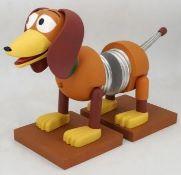 (R2L) 7 Items. 2x Snakes And Bladdered. 2x STEM Robotic Hedgehog. 1x Disney Pixar Toy Story Slinky