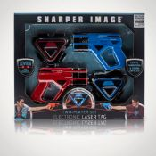 (R2N) 6x Sharper Image Two Player Electronic Space Laser Tag.