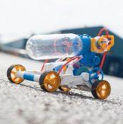 (R2M) 7x Science Discovery Air Power Engine Car Kit.