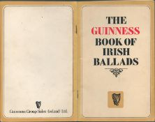 """Original 45-Page 1980ês The Guinness Book of Irish Ballads –Sing With Me Now""""."""