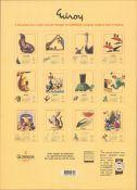 2003 Guinness Calendar Print John Gilroys Animals Characters *2