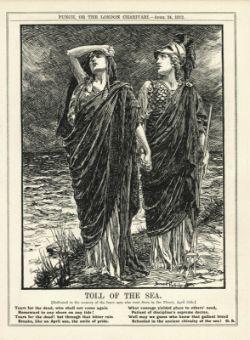 Original Titanic Memorabilia Complete Edition of Punch 1912 Rare print