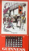 "1976 Vintage Guinness Calendar Print –Pub Names"" Artwork *3"