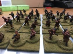 Black & Tans and Auxiliaries British Army Irish War of Independence 24 Painted Figures