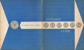 1959 Guinness Guide Handbook. With a Arthur Guinness Compliment Slip