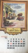 """GUINNESS 1974 Calendar Prints """"Pub Names"""" Artwork by Norman Thelwell *3"""
