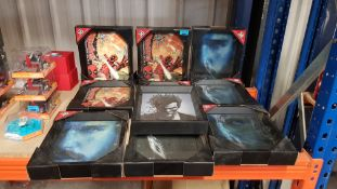 (R13B) 10x Mixed Amazing 3D Collectors Limited Edition Framed Picture. 6x Game Of Thrones. 3x Deadp