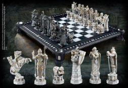 (R13B) 1x Harry Potter Final Challenge Chess Set RRP £299. (Product Number NN7979). Die Cast Zinc