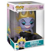 (R13C) 6x Mixed Pop! Characters. 4x Disney The Little Mermaid Ursula. 2x The Lord Of The Rings Balr