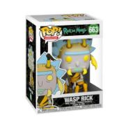 (R13C) 16x Mixed Pop! Characters. To Include Wasp Rick, Cuddle Team Leader, Kirkland Meeseeks, Male