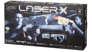 (R13D) 10x Items. 4x Laser X Double Morph Blasters. 6x Man's Best Friend Ball Launcher.