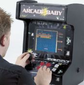 (R11G) 1x MightyMast Leisure Arcade Baby Table Top Multigames Arcade RRP £399. 99 Games Built In.