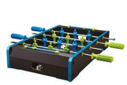 (R13E) 9x Items. 3x Neon Football Table Game. 3x Neon Air Hockey Tabletop Game. 3x Sharper Image Tw