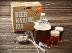 (R11G) 8x Items. 5x Brooklyn Brewshop Beer Making Kit, 1x 4 Bottle Optic Bar Butler. 1x Ingenious G