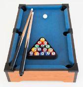 (R13F) 4x Tabletop Pool Table