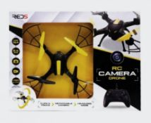 (R13C) 8x Red5 RC Camera Drone RRP £40 Each. (7x Yellow. 1x Red)