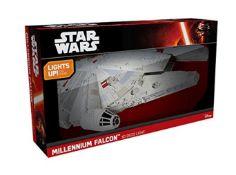 (R13C) 3x Items. 1x Star Wars Millennium Falcon 3D Deco Light. 1x Red5 GPS Hawk FPV Drone RRP 149.99